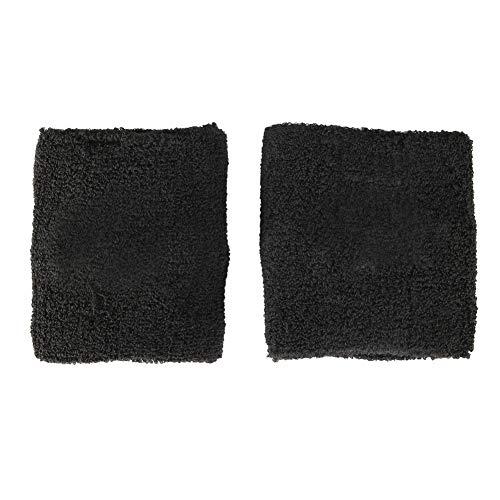 KIMISS 1 Pair Universal Black Reservoir Tank Cover Sock Car Reservoir Brake Clutch for Preventing the Fluid LossTRD