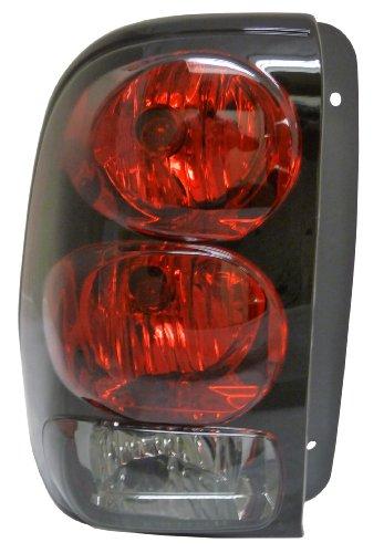 Chevy Trailblazer 02-09 Left Lh Rear Brake Taillight Taillamp Lens Housing