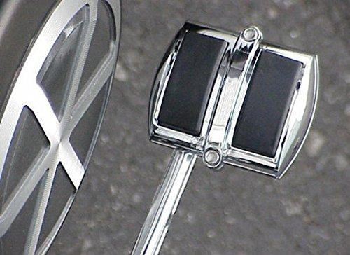 i5 Chrome Rear Brake Pedal Cover for Honda Kawasaki Suzuki Yamaha Cruisers
