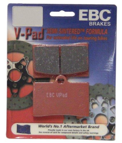 EBC Brakes FA458V Semi Sintered Disc Brake Pad