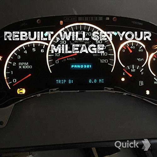 03 Chevy Tahoe Speedometer Cluster