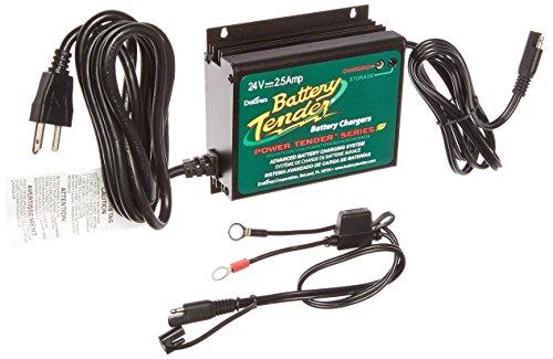 Battery Tender 022-0158-1 Waterproof 24 Volt Power Tender Plus Battery Charger