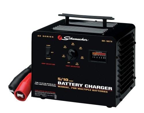 Schumacher Se-1072 5/10 Amp Multi-battery Charger