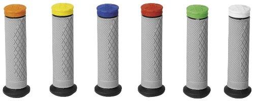 Pro Taper Tri-Density Full-Diamond ATV Grip - DiamondBlackGreyRed