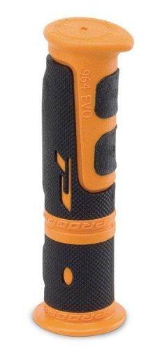 Progrip 964 ATV Grips - Thumb Throttle ORANGE