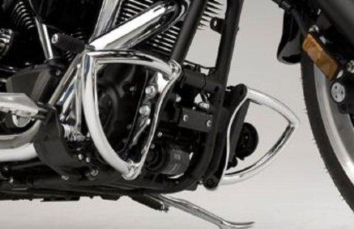 Genuine Yamaha OEM Raider Chrome Engine Guards pt STR-5C731-10-00