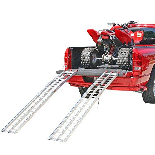 Rage Powersports IA-9012-2 Aluminum ATV Loading Ramp 89 Arched