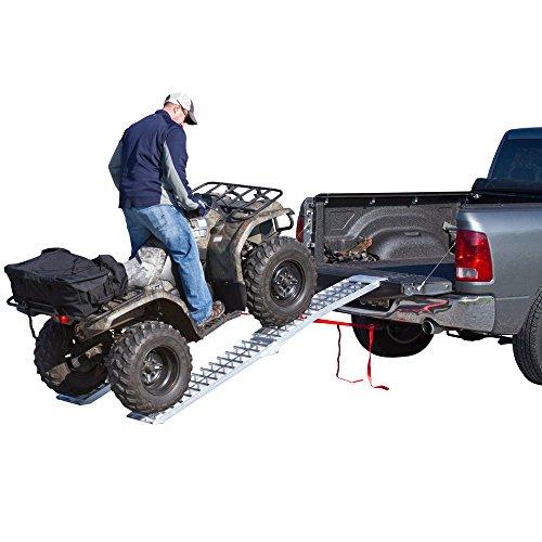 Rage Powersports AF-9012-HD 89 Arched Folding Loading Ramp for ATV UTV and Golf Carts
