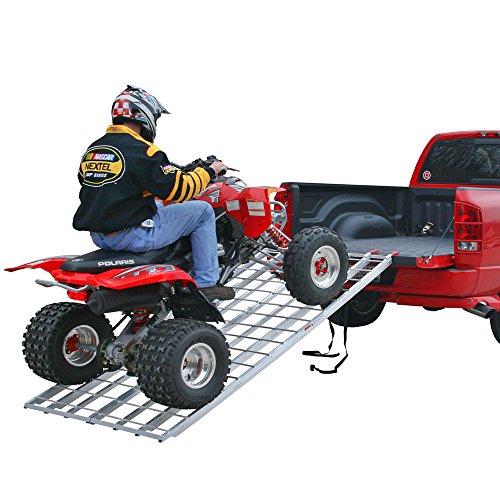 Rage Powersports IBF-9444 ATV Loading Ramp 94 Strong Aluminum Bi-Fold