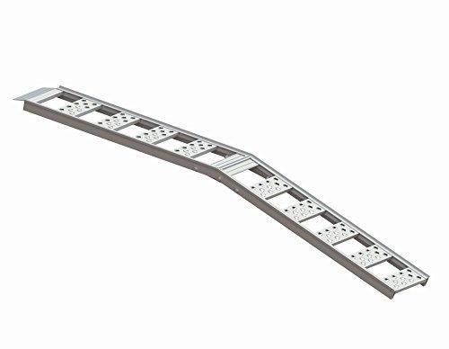 Highland 1126900 85 Aluminum Smooth Rung Center Fold Loading Ramp - 1 unit