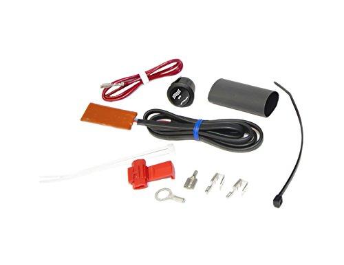 Heat Demon 210008 ATV Thumb Warmer Kit with Round Rocker Switch