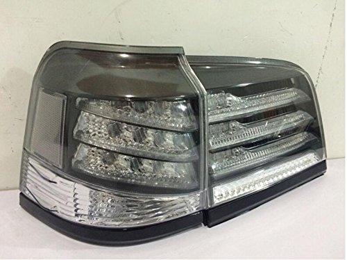 1 Pair Black Color for 2012 2013 2014 Lexus Lx570 LED TAIL Lights Assembly LED Tail Light Rear Lamp DRLBrakeReversingSignal LED DRL Stop Rear Lamp