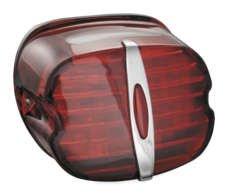 Kuryakyn 5462 Deluxe ECE Red LED Taillight with License Illumination