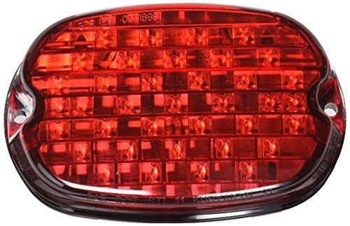 Kuryakyn 5466 Low Profile ECE Red LED Taillight with License Illumination