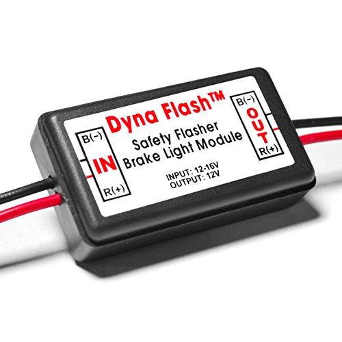 Krator Brake Taillight Flasher Rear Alert Back Off Light For Honda Helix Ruckus Reflex Elite Silver Wing