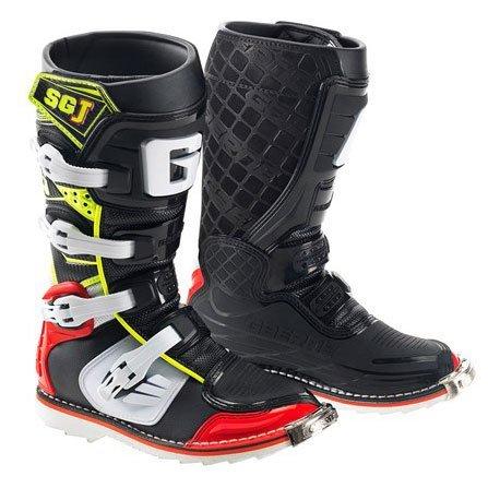 Gaerne 2016 Gaerne SG-J Kids Motocross Boots Red Yellow Black MX SIZE 4
