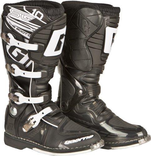 Gaerne SG-10 Boots  Distinct Name Black Size 6 Primary Color Black Gender MensUnisex 2158-001-006