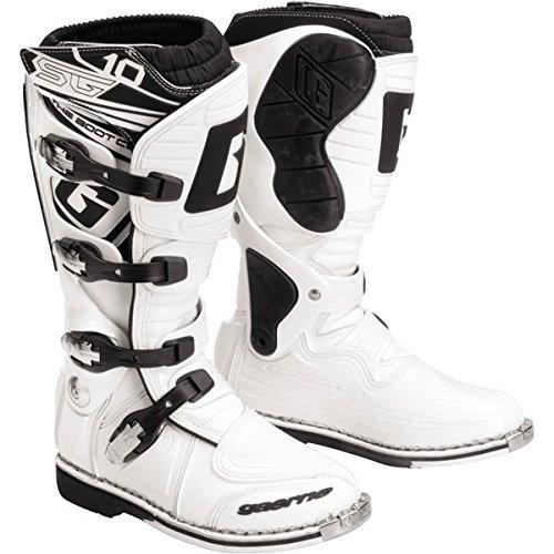 Gaerne SG-10 Boots  Distinct Name White Size 13 Primary Color White Gender MensUnisex