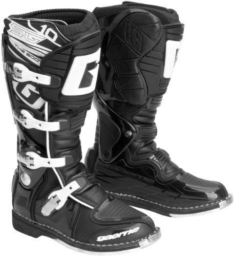 Gaerne SG-10 Boots  Size 13 Distinct Name Black Gender MensUnisex Primary Color Black 2158-001-13 2152-001-13