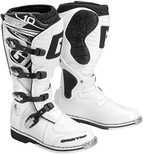 Gaerne SG-10 Boots  Size 8 Distinct Name White Gender MensUnisex Primary Color White 2158-004-08 2152-004-08