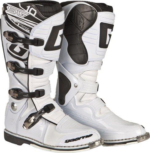 Gaerne Sg_10 Boots Sg-10 Wht Sz 8