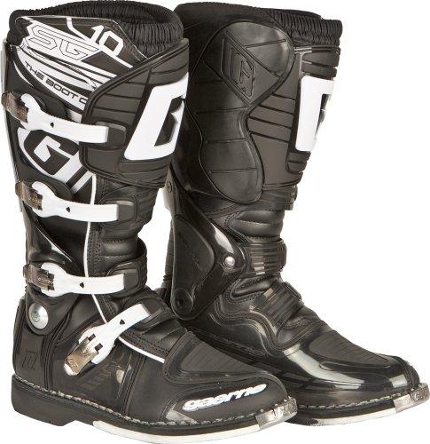 Gaerne SG-10 Boots  Distinct Name Black Size 13 Primary Color Black Gender MensUnisex 2158-001-013