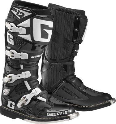 Gaerne SG-12 Boots Distinct Name Black Gender MensUnisex Size 11 Primary Color Black 2174-001-011