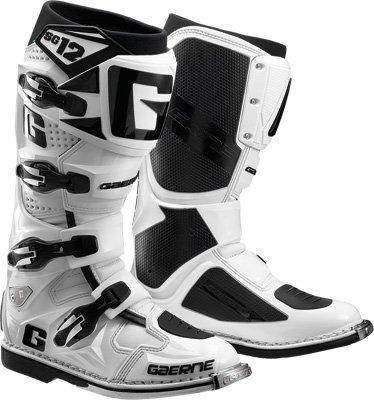 Gaerne SG-12 Boots Distinct Name White Gender MensUnisex Size 8 Primary Color White 2174-004-008
