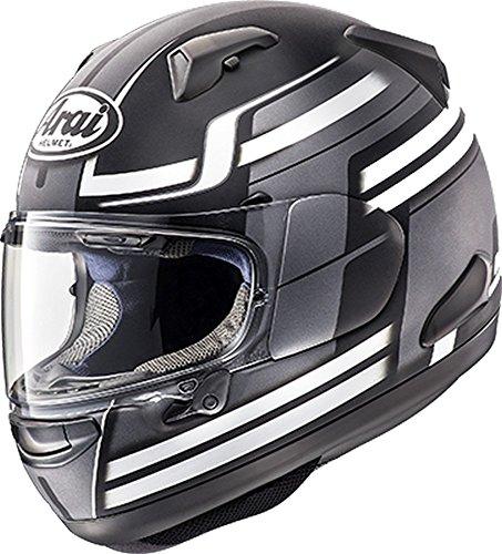 Arai Quantum-X Competition Black Frost Full Face Helmet - X-Large