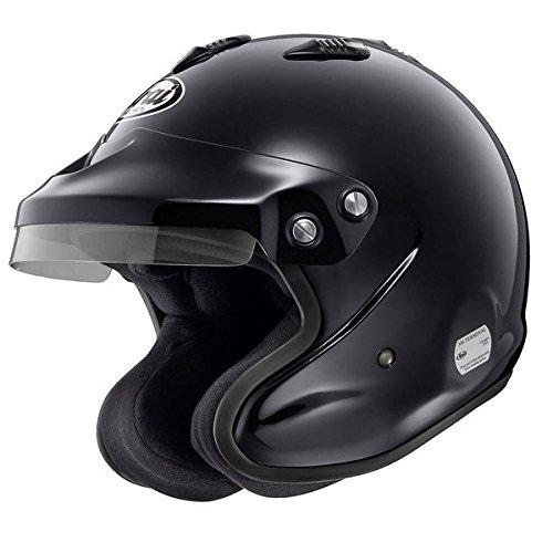 Arai GP-J3 8859 Series 4-wheel for the open-face helmet black XL 61 GP-J3 8859XL 61 Black