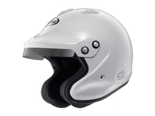 Arai GP J3 Open Face Helmet White Medium Snell 2010