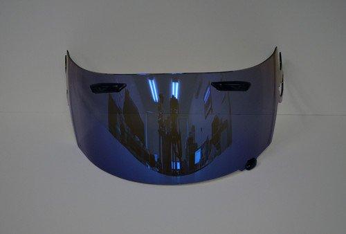Aftermarket Product Blue Iridium Visor Shield for ARAI RR5 RX-Q RXQ RX-7GP