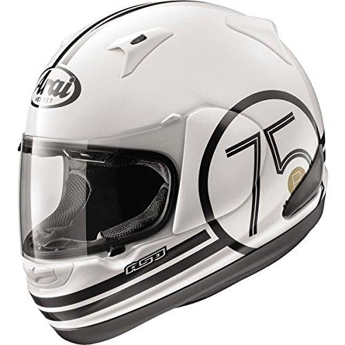 Arai RX-Q 75 Retro White Full Face Helmet - 2X-Large