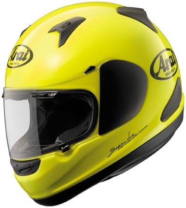 Arai RX-Q Flourescent Yellow Full Face Helmet L