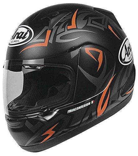 Arai RX-Q Groove Orange Frost Full Face Helmet - X-Small