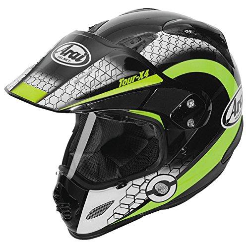 Arai XD4 Mesh Yellow Dual Sport Helmet - Medium