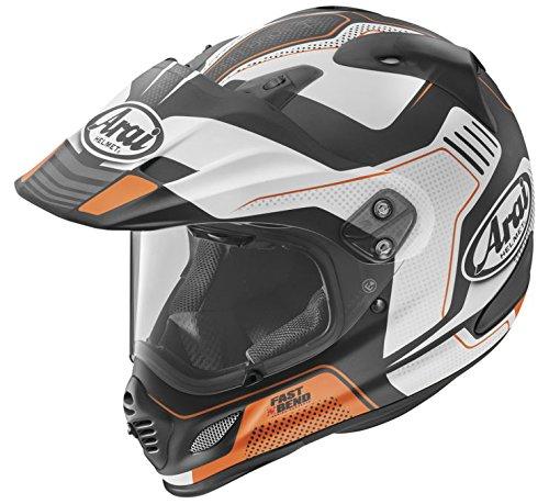 Arai XD4 Vision Frost Orange Dual Sport Helmet - Large