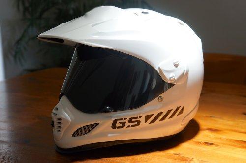 The Pixel Hut gs00043b Helmet Graphics BMW GS Chevron Reflective for Arai XD4 - Black