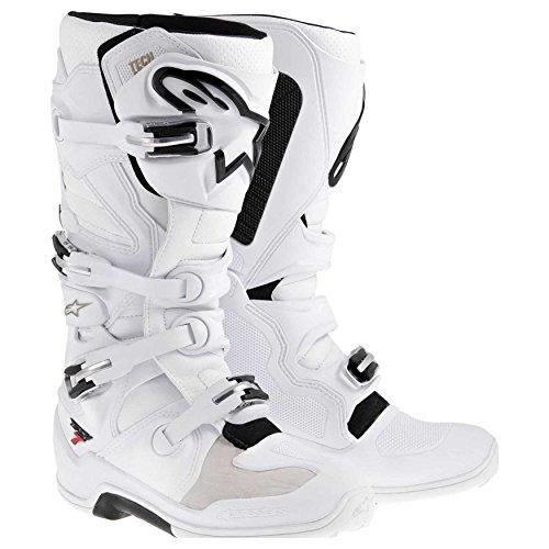 Alpinestars Tech 7 Boots-White-7
