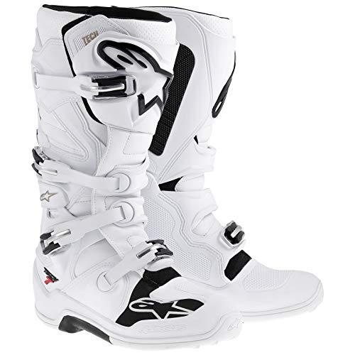 Alpinestars Tech 7 Mens White Motocross Boots - 15