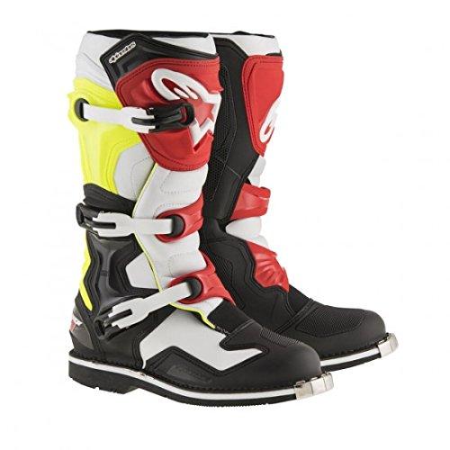 Alpinestars Tech 1 Motocross Boot - BlackWhiteRed - 9