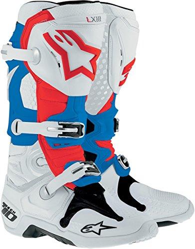 Alpinestars Tech 10 Mens Dirt Bike Motorcycle Boots - Patriot  Size 11
