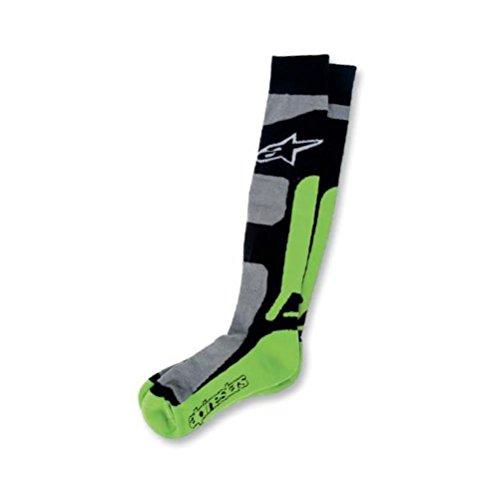 Alpinestars Tech Coolmax MX Socks-Green-LXL