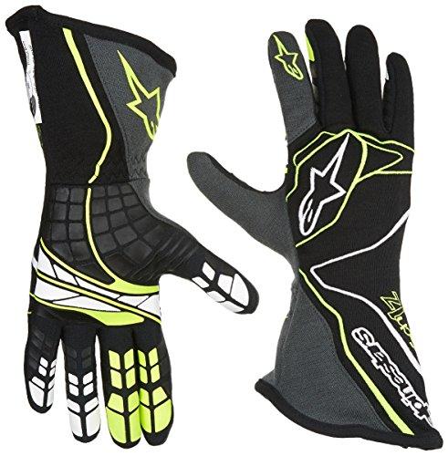 Alpinestars TECH 1-Z Gloves BlackAnthraciteFluorescent Yellow Medium