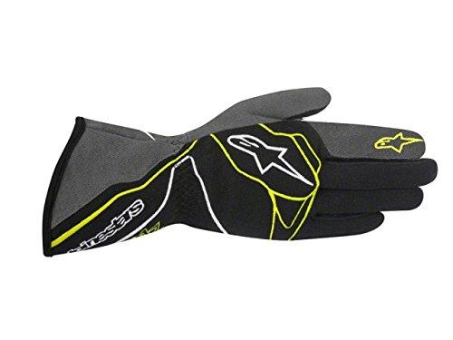 Alpinestars TECH 1-Z Gloves BlackAnthraciteFluorescent Yellow X-Large