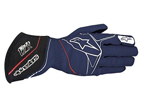 Alpinestars TECH 1-ZX Gloves Navy BlueWhiteRed X-Large