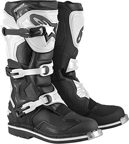 Alpinestars Tech 1 Boots-BlackWhite-12