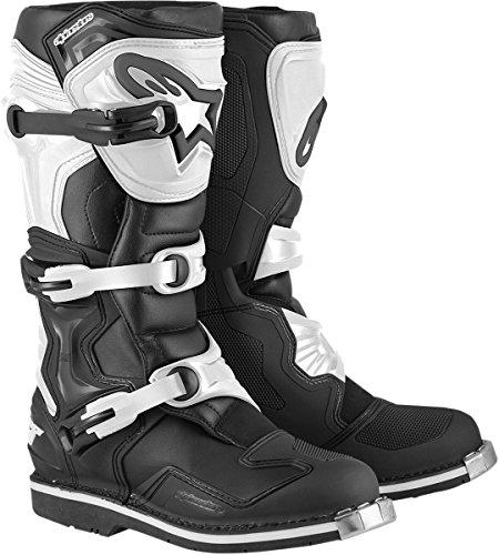 Alpinestars Tech 1 Boots-BlackWhite-9