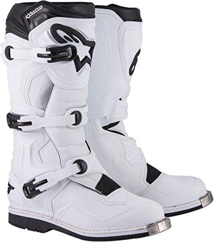 Alpinestars Tech 1 Boots-White-10