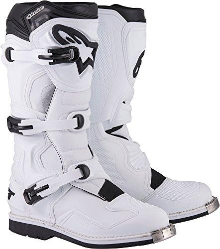Alpinestars Tech 1 Boots-White-8